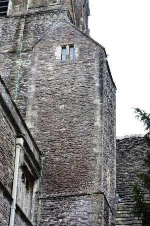 Exterior of the Anglo Saxon Tower
